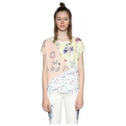 Desigual T-Shirt Damski Ambrosine Xs Biały. Białe t-shirty damskie Desigual, xs. W wyprzedaży za 169,00 zł.