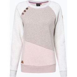 Ragwear - Damska bluza nierozpinana – Daria Block, beżowy. Brązowe bluzy damskie marki Ragwear, l. Za 169,95 zł.