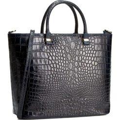 Torebka CREOLE - RBI10172 Granat. Czarne torebki klasyczne damskie marki Creole, ze skóry. W wyprzedaży za 319,00 zł.