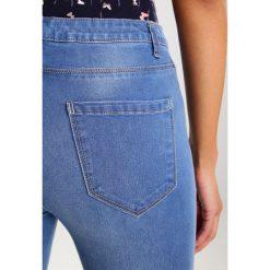 Boyfriendy damskie: Springfield Jeansy Slim Fit blues