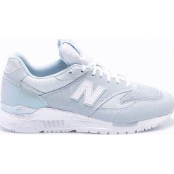 New Balance - Buty WL840PB. Szare buty sportowe damskie New Balance, z gumy. W wyprzedaży za 329,90 zł.