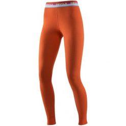 Devold Spodnie Damskie Hiking Woman Long Johns Brick L. Pomarańczowe bryczesy damskie marki Devold, l, ze skóry, outdoorowe. W wyprzedaży za 215,00 zł.