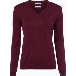 Brookshire - Sweter damski, czerwony. Czarne swetry klasyczne damskie marki brookshire, m, w paski, z dżerseju. Za 129,95 zł.