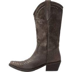 Kentucky's Western Kowbojki i Buty motocyklowe cerp natur/khaki. Brązowe buty zimowe damskie marki Kentucky's Western, z materiału. W wyprzedaży za 527,40 zł.
