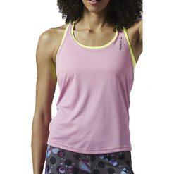 Bluzki damskie: Reebok Koszulka damska biegowa Running Essentials Bra W różowa r. L (AJ0433)
