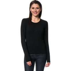 Sweter w kolorze czarnym. Czarne swetry klasyczne damskie C&Jo i Assuili, z kaszmiru. W wyprzedaży za 113,95 zł.