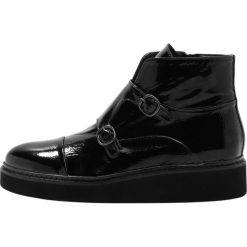 Botki damskie lity: Homers KING  Ankle boot black