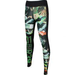 Reebok Spodnie damskie One Series ACTIVChill Crazy Camo Tight czarne r. M (AJ0634). Szare spodnie sportowe damskie marki Reebok, l, z dzianiny, casualowe, z okrągłym kołnierzem. Za 169,87 zł.