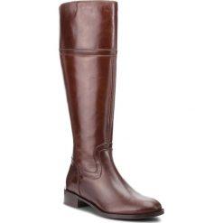 Oficerki SOLO FEMME - 33926-02-I10/000-01-00 Brąz. Brązowe buty zimowe damskie Solo Femme, ze skóry ekologicznej, na obcasie. Za 579,00 zł.