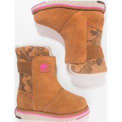 Buty zimowe damskie: Sorel RYLEE CAMO Śniegowce pink ice
