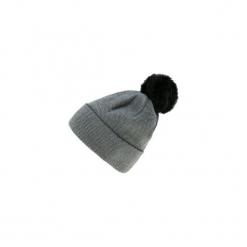 Czapka damska zimowa. Szare czapki zimowe damskie TXM, na zimę. Za 14,99 zł.