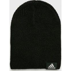 Adidas Performance - Czapka. Czarne czapki zimowe męskie adidas Performance. W wyprzedaży za 49,90 zł.
