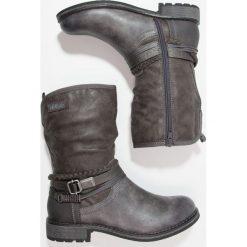 S.Oliver RED LABEL Kowbojki i Buty motocyklowe grau. Szare buty zimowe damskie marki s.Oliver RED LABEL, z materiału. W wyprzedaży za 239,20 zł.