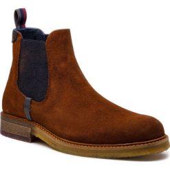 Sztyblety TED BAKER - Bronzo 9-16530 Dk Tan. Czarne buty zimowe męskie marki Ted Baker, z materiału. Za 909,00 zł.