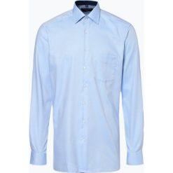 Andrew James - Koszula męska niewymagająca prasowania, niebieski. Niebieskie koszule męskie non-iron Andrew James, m, z bawełny, z klasycznym kołnierzykiem. Za 179,95 zł.