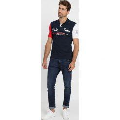 La Martina IVOR Koszulka polo navy. Niebieskie koszulki polo La Martina, l, z bawełny. Za 669,00 zł.