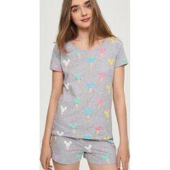 Bielizna nocna: Piżama mickey mouse - Jasny szar