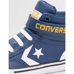 Converse PRO BLAZE STRAP JUNIOR Tenisówki i Trampki wysokie navy/white/mineral yellow. Niebieskie tenisówki męskie Converse, z materiału. Za 229,00 zł.