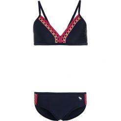Abercrombie & Fitch Bikini navy. Niebieskie bikini Abercrombie & Fitch. W wyprzedaży za 143,10 zł.
