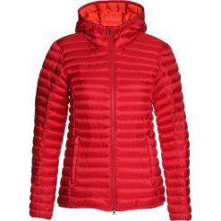 Kjus WOMEN CYPRESS HOODED Kurtka puchowa persian red/orang. Czerwone kurtki damskie Kjus, z materiału. W wyprzedaży za 1133,10 zł.