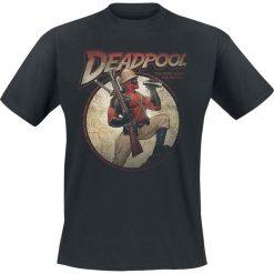 T-shirty męskie: Deadpool Time For Adventures T-Shirt czarny