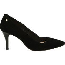 Czółenka - 2486 CAM NER1. Czarne buty ślubne damskie Venezia, ze skóry. Za 199,00 zł.