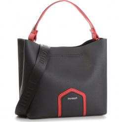 Torebka MONNARI - BAGB190-020 Black With Red. Czarne torebki klasyczne damskie Monnari, ze skóry ekologicznej. W wyprzedaży za 169,00 zł.