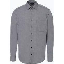 Andrew James - Koszula męska łatwa w prasowaniu, czarny. Czarne koszule męskie non-iron Andrew James, m, z bawełny, z klasycznym kołnierzykiem. Za 129,95 zł.