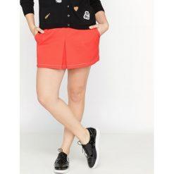 Spódnico-szorty. Szare spódniczki marki La Redoute Collections, m, z bawełny, z kapturem. Za 115,46 zł.