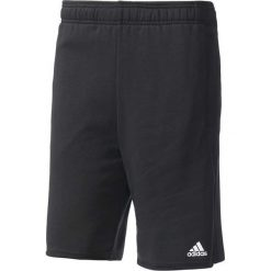 Spodenki i szorty męskie: Adidas Spodenki męskie Essentials Raw Hem French Terry Short M czarne roz. S (BK7461)