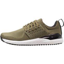 Adidas Golf ADICROSS BOUNCE Obuwie do golfa olive cargo/core black/footwear white. Zielone buty sportowe męskie adidas Golf, z materiału, na golfa. Za 549,00 zł.