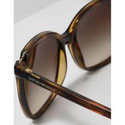 Emporio Armani Okulary przeciwsłoneczne havana. Brązowe okulary przeciwsłoneczne damskie lenonki Emporio Armani. Za 509,00 zł.
