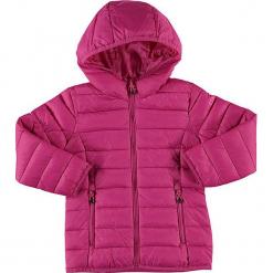 Kurtka zimowa w kolorze różowym. Czerwone kurtki dziewczęce przeciwdeszczowe marki CMP Kids, na zimę, z materiału. W wyprzedaży za 122,95 zł.