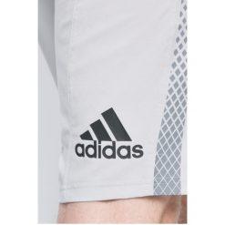 Adidas Performance - Szorty. Szare spodenki sportowe męskie adidas Performance, z elastanu, sportowe. W wyprzedaży za 99,90 zł.