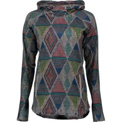 """Swetry klasyczne damskie: Sweter """"Crystal"""" w kolorze niebieskim ze wzorem"""
