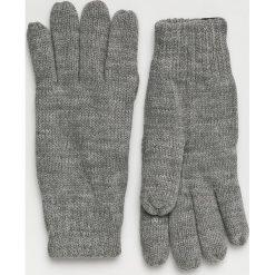 Tom Tailor Denim - Rękawiczki. Szare rękawiczki męskie TOM TAILOR DENIM, z denimu. W wyprzedaży za 59,90 zł.