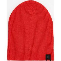 Czapka - Czerwony. Czerwone czapki damskie marki Reserved. Za 49,99 zł.