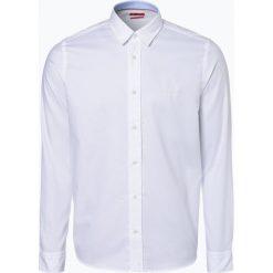 HUGO - Koszula męska – Evory-Logo, czarny. Niebieskie koszule męskie na spinki marki HUGO, m, z bawełny. Za 349,95 zł.