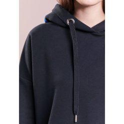Bluzy rozpinane damskie: CLOSED WOMENS TOP Bluza z kapturem navy
