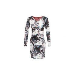 Sukienki krótkie Smash  GRANADA. Szare sukienki mini marki Smash, l, z krótkim rękawem. Za 207,20 zł.