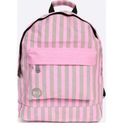 Mi-Pac - Plecak. Różowe plecaki damskie Mi-Pac, z bawełny. W wyprzedaży za 89,90 zł.