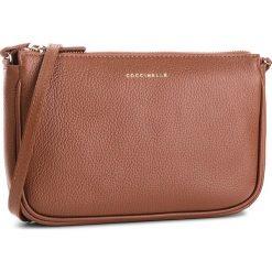 Torebka COCCINELLE - CV3 Mini Bag E5 CV3 55 E1 07 Brule W74. Brązowe listonoszki damskie Coccinelle, ze skóry. W wyprzedaży za 489,00 zł.