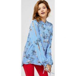 Zhenzi Długa koszula dżinsowa Thot denim blue female  cr1YS