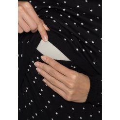 Swetry klasyczne damskie: Boob Sweter black/offwhite dot