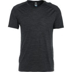 Koszulki polo: Icebreaker MENS SPHERE CREWE Tshirt basic black heather