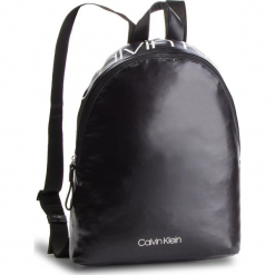Plecak CALVIN KLEIN - Ck Essential Backpack K60K604811 001. Czarne plecaki męskie Calvin Klein, z materiału. Za 349,00 zł.