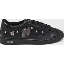Guess Jeans - Buty. Niebieskie buty sportowe damskie marki Guess Jeans, z obniżonym stanem. Za 469,90 zł.