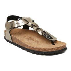 Sandały damskie: Sandały w kolorze złotobrązowym