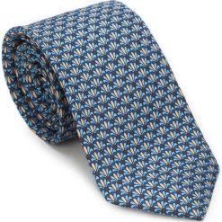 Krawat 87-7K-001-X2. Szare krawaty męskie marki Wittchen, z bawełny, eleganckie. Za 149,00 zł.
