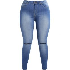Rurki damskie: Elvi Jeans Skinny Fit blue